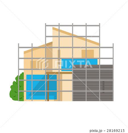 建築中の家イメージ 28169215