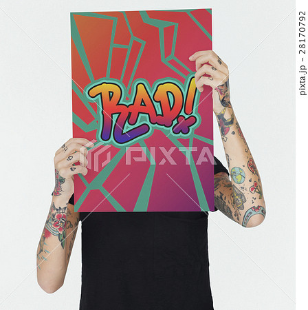Rad Awesome Cool Creative Fashion Trendy Conceptの写真素材 [28170792] - PIXTA