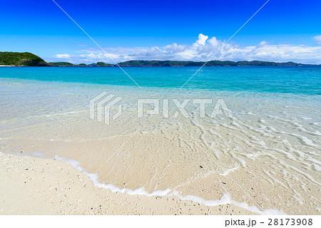 沖縄県 慶良間諸島 座間味島 古座間味ビーチ 28173908