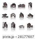 建物 ビジネス ビルのイラスト 28177607