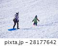 雪遊び(ボケ表現) 28177642