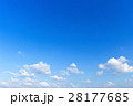 blue sky background with white clouds 28177685