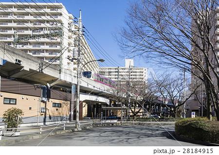中央線高尾駅南口 ロータリー 28184915