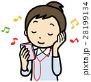 音楽 音楽プレイヤー オーディオプレイヤーのイラスト 28199134