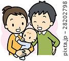子育て 育児 家族のイラスト 28202798