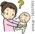 育児 泣く わからないのイラスト 28207955