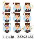 ビジネスマン 表情 アイコン 28208188