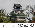 高知城の天守閣の風景 28208198