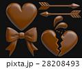 チョコレート バレンタイン お菓子のイラスト 28208493