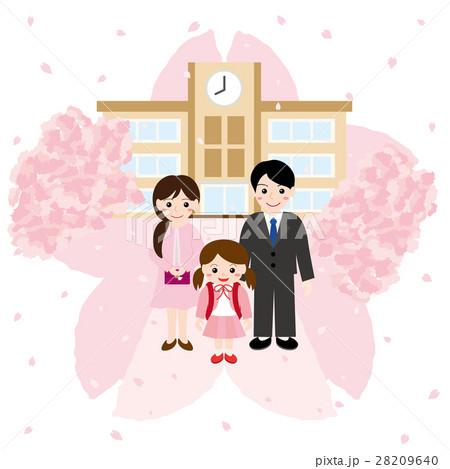 小学校入学 親子 28209640
