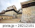 松山城と石垣 28212101