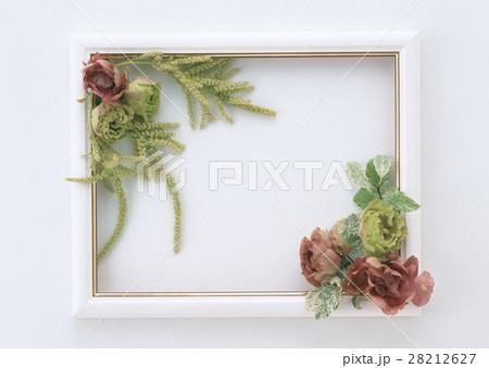 花のフレームの写真素材 [28212627] - PIXTA