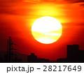 大きな夕日 28217649