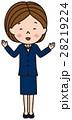 ベクター ビジネスウーマン 会社員のイラスト 28219224
