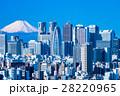 【東京都】富士山と新宿副都心 28220965