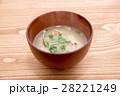 味噌汁 和食 あさりの味噌汁の写真 28221249