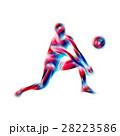 バレー バレーボール アスリートのイラスト 28223586