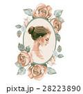 Girl. Romantic watercolor illustration  28223890