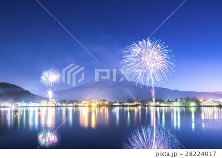 河口湖冬花火 28224017