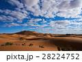 砂漠 サハラ砂漠 大砂丘の写真 28224752