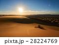 砂漠 サハラ砂漠 砂丘の写真 28224769