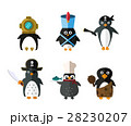 Penguin vector animal character illustration. 28230207