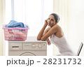 インドア 洗濯 洗濯物の写真 28231732