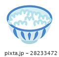 ご飯 茶碗 白米のイラスト 28233472