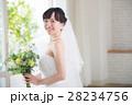 花嫁 ウエディングドレス ブライダルの写真 28234756