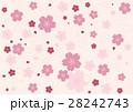 花柄の背景 28242743