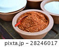 Cayenne pepper, fried chili and grinding 28246017