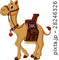 ラクダ ベクトル マンガのイラスト 28246326