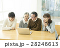 家族 パソコン リビングの写真 28246613