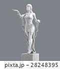 Marble Woman Sculpture 3D rendering 28248395