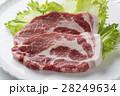 豚肉 生肉 肉の写真 28249634
