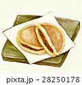 食べ物 菓子 どら焼きのイラスト 28250178
