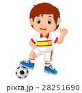サッカー マンガ 漫画のイラスト 28251690