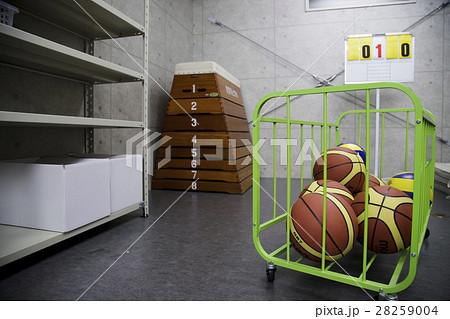 体育倉庫 倉庫 学校 教育 高校 スクール スクールライフ 28259004