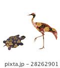 和柄の鶴と亀 28262901