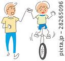 一輪車の練習 28265096