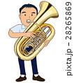 チューバを吹く男子 28265869