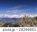 残雪の後立山連峰(長野県) 28266601