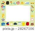 入学 入園 フレームのイラスト 28267106