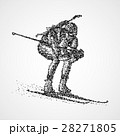 abstract biathlon sportsman 28271805