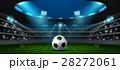 サッカー フットボール 蹴球のイラスト 28272061