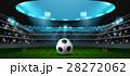 サッカー フットボール 蹴球のイラスト 28272062