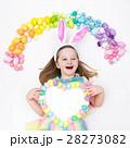 子 子供 パステルの写真 28273082