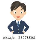 高校生 制服 男の子のイラスト 28273508
