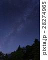 天の川 星空 星の写真 28274965