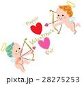 バレンタイン キューピット 天使のイラスト 28275253